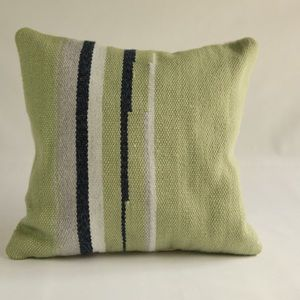 Handwoven Aztec Accent Pillow (12 X 12 inches)